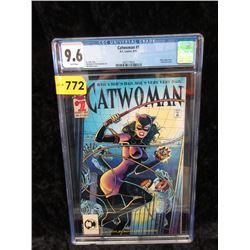 "Graded 1993 ""Cat Woman#1"" DC Comic"
