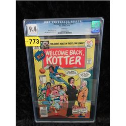 """Graded 1976 """"Welcome Back Kotter #1"""" DC Comic"""