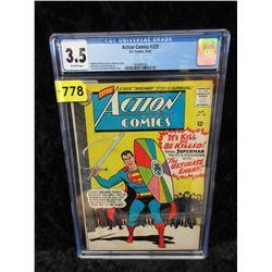 "Graded 1965 ""Action Comics #329"" 12¢ DC Comic"