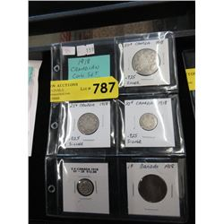 Complete1918 Canadian Coin Set