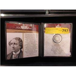 1964 Canadian Charlottetown 80% Silver Dollar Coin