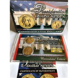 "Presidential Dollar Series ""John Adams"" Commemorative Dollars set in Original Package"