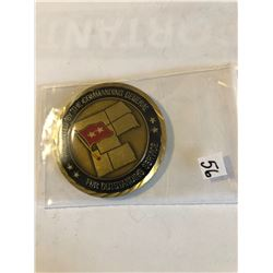 RARE Challage Coin ARMY Presented by a GENERAL Utah 96th Command
