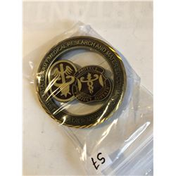 RARE Challage Coin ARMY Presented by a GENERAL SOLDIER MEDIC