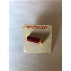 Vintage Winchester Shotgun Shell Pin on Original Winchester Card
