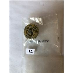 "Vintage ""LIFETIME SERVICE POLICY"" Pin in Original Bag"
