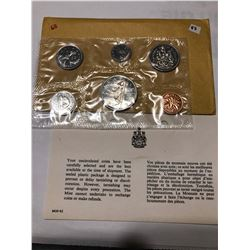 1968 Canadian Proof Set original package