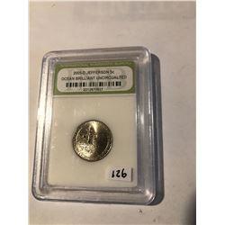 2005 D Jefferson OCEAN Nickel Certified Brilliant Uncirculated