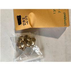 Vintage Rare Beautiful TRIFARI Earrings stamped TRIFARI