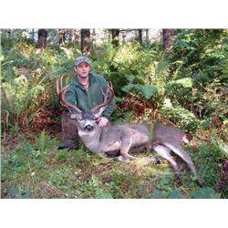 Oregon Hunt for Columbian Blacktail, Columbian Whitetail or Roosevelt Elk