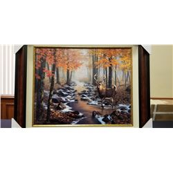 Autumn Interlude is a framed Artist Proof