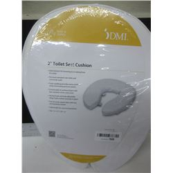 "New DMI  2"" Toilet Seat Cushion fits most standard and commode seats"