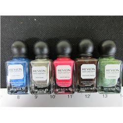 5 New Revlon Parfumerie scented Enamel Nail Polish / msrp 14.99ea