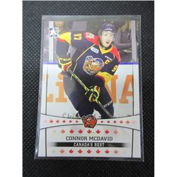 Connor McDavid Erie Otters Hockey Card # 11 pre rookie card
