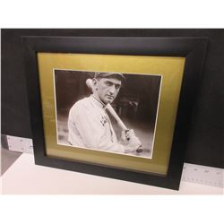 Shoeless Joe Jackson 13 x 15 custom framed Photo  [ D. 1951 Athletics ]