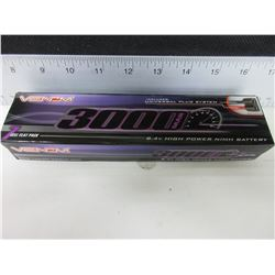 New Venom 3000mah 7 cell flat pack 8.4 volt high power nimh Battery for