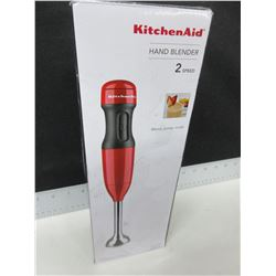New Kitchen Aid Hand Blender 2 speed  / blend,puree,crush comes with