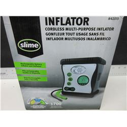 Inflator Multi purpose / works great on 12 volt / Battery not charged and untested
