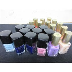 22 New Assorted Nail Polish / 12 L'Oreal & 10 Covergirl assorted colors