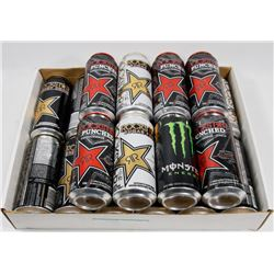 FLAT OF ROCK STAR ENERGY DRINKS