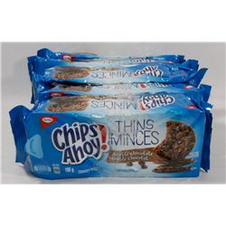 5 PACKS OF CHIPS AHOY DOUBLE CHOCOLATE COOKIES