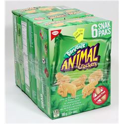 3 BOXES OF ANIMAL CRACKERS