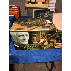 "Antique John Deere toy Tractors and Memorabilia, unopened in original boxes, John Deere ""D"" 1923, 83"