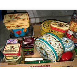 Collector tins, smoke, tobacco from 1906, rare