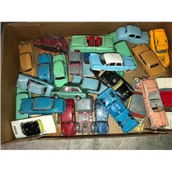 """Approx 100 plus British made """"Dinky Toys"""" 40's - 50's, 60's cars, trucks, trains, etc"""