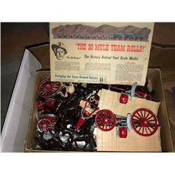 "Dinky Toys, Cast Iron 1920's ship ""Union Steamships Ltd."", Borax 20 Mule team model, Star Wars Toys"