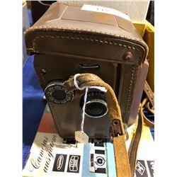 """2 antique cameras plus B&H """"Filmo doublerun 8"""""""