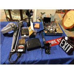 Mag glass, gold tester, Galvino metre, digital scale, micrometers plus testing equipment, micro weig
