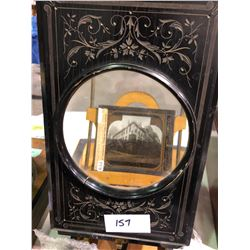 1800's picture view finder magnified (rare)
