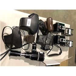 8 cameras, 35mm, Nikon lense
