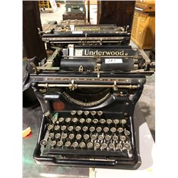 2 - Underwood typewriters Approx 1911