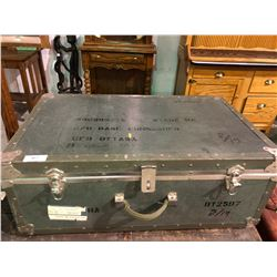 Canadian military trunk Ottowa and luggage