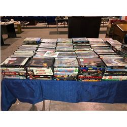 Approx 300 DVDs plus VHR movies & CDs