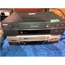 2 - VCRs, Toshiba and RCA