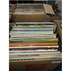 4 boxes of LPs & 45s