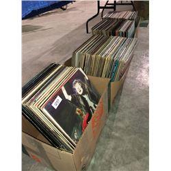 4 boxes LPs