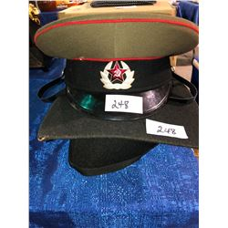 USSR officer hat, grad hat