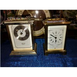Bayard France and German Brass Clocks
