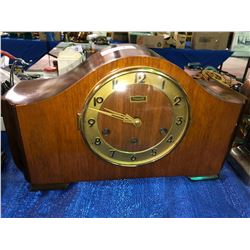 Forrestville Toronto Walnut mantle pendulum clock with key