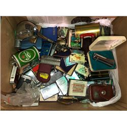 Amazing lighter collection, lady light, Remington, 50 plus lighters
