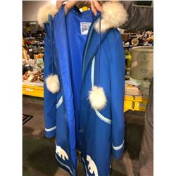 "Blue ladies size 10 original ""Yukon Parka"""