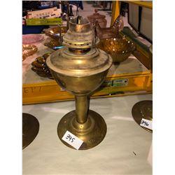 CPR Brass Lamp