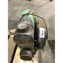 Gas washing machine motor