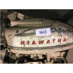 Hiawatha outboard motor