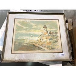 10 - 2 ft x 4 ft shelves, framed print