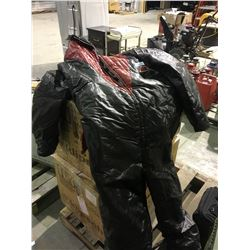 Massey Ferguson ski whiz xlarge 1970's snowmobile suit, hunter seat, jockey helmet, tool bags